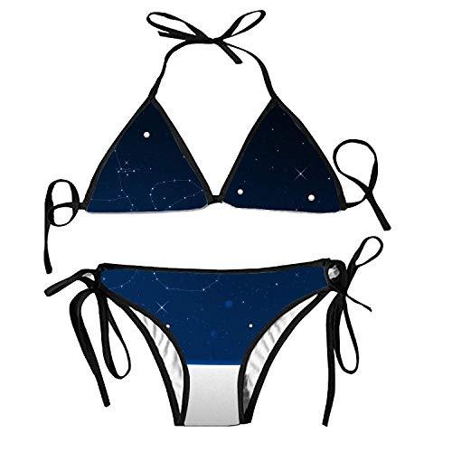 Zweiteilige Bikini, Naked Girl Fashion Sexy Badeanzug One Size