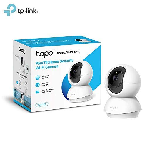 TP-Link Telecamera Wi-Fi Interno, Videocamera sorveglianza...