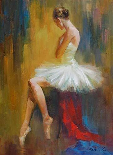 Houten puzzel opvouwbaar,Volwassen kinderen puzzel Ballerina impressionistische danseres Gift Diy houten puzzel uniek cadeau Home Decor stijl