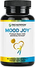 Trio Nutrition Mood Joy 5-HTP Capsule Traditional Herbs: St Johns Wort, Ashwagandha, Turmeric Stress Relief to Promote: Emotional Health, Relaxing Sleep, Anxiety & Depression Relief – Joy