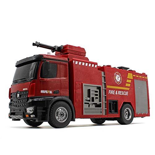 JIU SI Profesional 22CH R/C Box Agua pulveriza Máquina de camión de Bomberos en Toys de Control Remoto Coche
