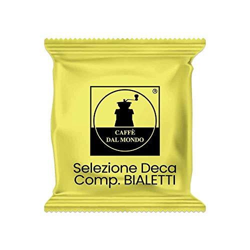 100 capsule compatibili Bialetti - Decaffeinato - Intensità 6