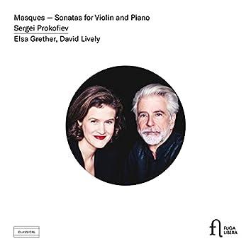 Prokofiev: Masques - Sonatas for Violin and Piano