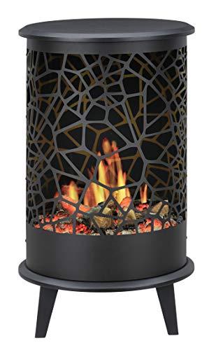 Faber opti-v 360° Indoor Freestanding FireplaElectric BLACK–Kamin (420mm, 360mm, 705mm, 12kg, 474.6mm, 406.8mm)
