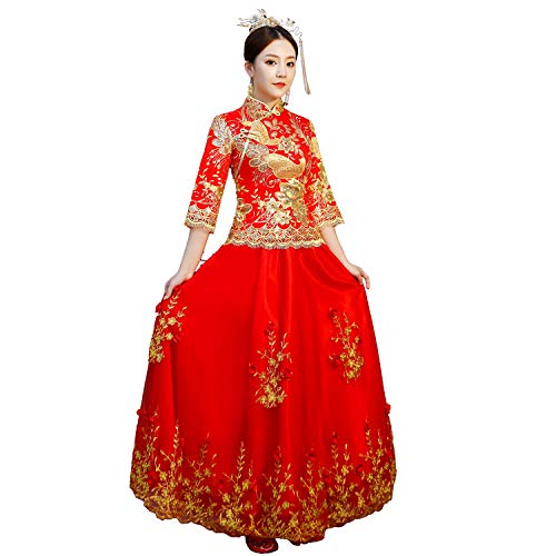 Top 10 best selling list for chinese wedding clothes