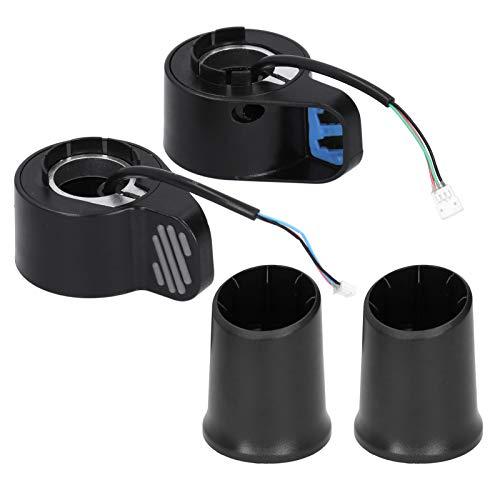 VGEBY Acelerador de Acelerador, Scooter eléctrico Acelerador de Acelerador de Pulgar Izquierdo Derecho Accesorios compatibles con Xiaomi/Ninebot ES2 Scooter eléctrico