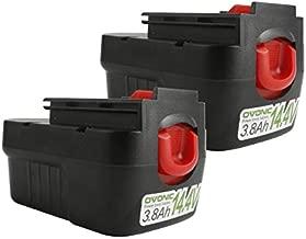 OVONIC 14.4V 3.8Ah Battery for Black Decker Firestorm PS140 PS140A A9262 EG 14.4V Tool PS3600 FS1462F CRS144