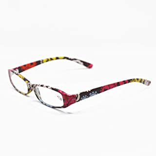 Qi Song 4 Pairs Retro Japanese Reading Glasses Men Women Eyeglasses With Exclusive Pouch qs747