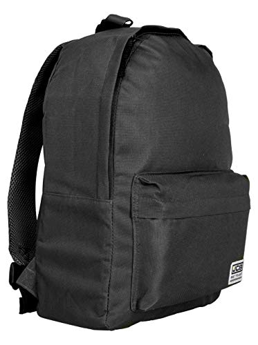 JCB Backpack for School – Backpack for Men and Women (Unisex) – Great to Be Used As A Laptop Backpack, Kids Backpack, School Backpack and Kids Backpack (Black)