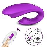 Wasserdichte G Punkt Vibratoren, Paar Vibratoren für Sie Klitoris und Sein Anus Stimulation,...