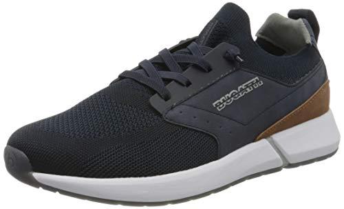 bugatti Herren 341927616900 Slip On Sneaker, Blau, 41 EU