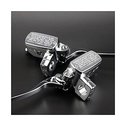 1 par de palancas de Embrague de Cilindro Maestro de Freno Universal de 25mm para S&uzuki para B&oulevard para I&ntruder 800 1400 1500 C90 S50 S83 Embrague Freno de Mano
