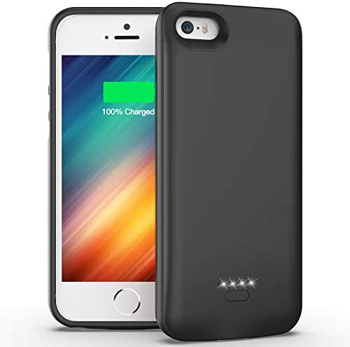 iPhone SE 5 5S Battery Case 4000mAh Protective Charging Case for iPhone SE 2016 Edition 5S 5 product image