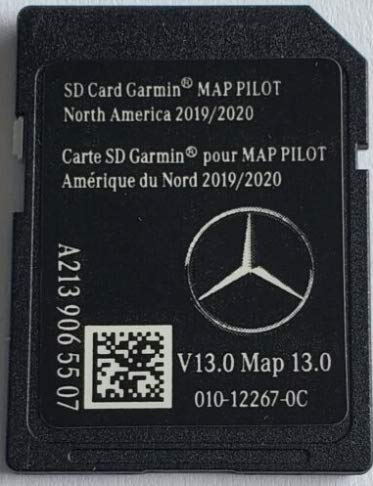 SD Card Garmin Map Pilot 2018 North America Mercedes-Benz Navigation A2139069903
