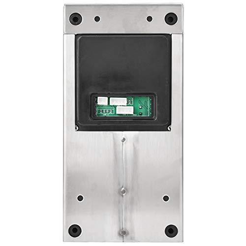 Sistema de intercomunicación, videoportero Resistente a la Intemperie para Apartamentos 2 Unidades para el hogar(Australian regulations (110-240V), Transparency)