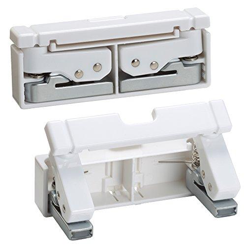 リヒトラブコンパクトパンチ2穴白P1040-0
