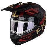 FXR Maverick Modular Team Helmet - Electric Shield - Hi-Vis/Black/Charcoal - MED