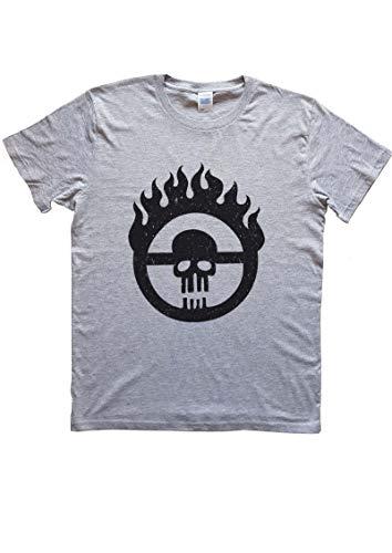 PressYou T-Shirt Jeu vidéo Film Mad Max Fury Road Max Rockatansky Enfants de Guerre Gris, 7-8 Ans