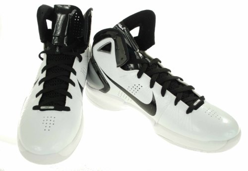 Nike Mens Hyperdunk - 407627 101 White/Black/HOT PINK-11-M