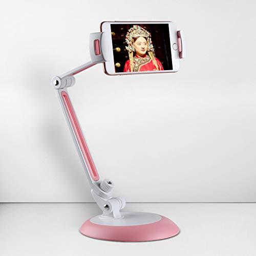 DLINF - Soporte Universal para iPhone, iPad, Tumbona, Cama, Escritorio, Tableta, Soporte de Metal