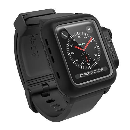 Catalyst Custodia impermeabile antiurtoper Apple Watch 38 mm Serie 2 (Nero Azione furtiva)