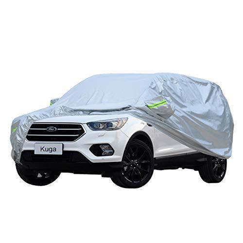 SXET-Car cover Copriauto Ford Kuga Copriauto Speciale Paraluce in Tessuto Oxford Protezione UV Scratch Impermeabile