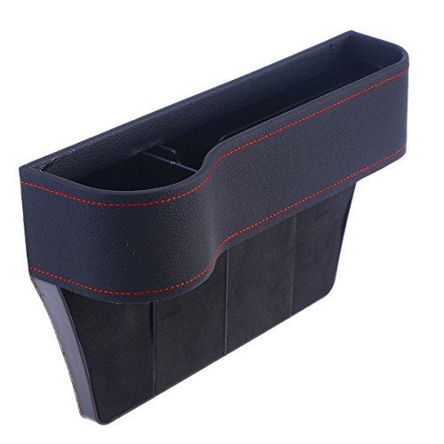 VORCOOL Car Main Driver Seat Gap Organizador de llenado Drop Catcher Pocket...