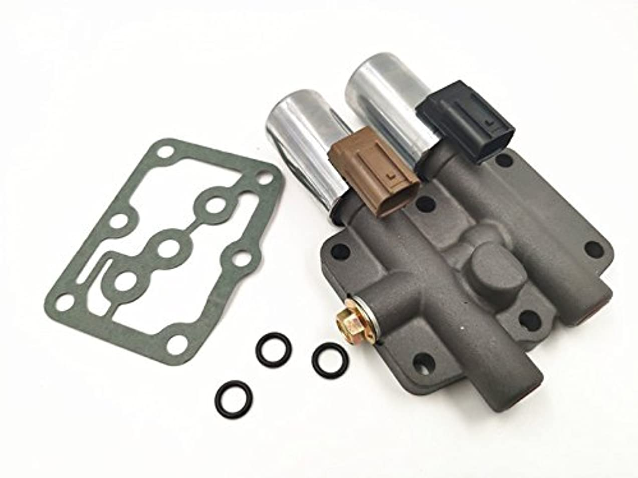Anngo Replace 28250-P6H-024 Dual Linear Transmission Solenoid Fit Honda Accord Odyssey Prelude Pilot Acura MDX CL TL