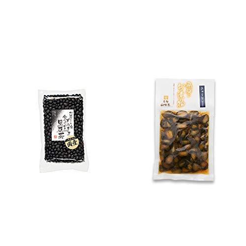 [2点セット] 国産 黒豆茶(200g)・飛騨山味屋 きゅうり醤油漬(150g)