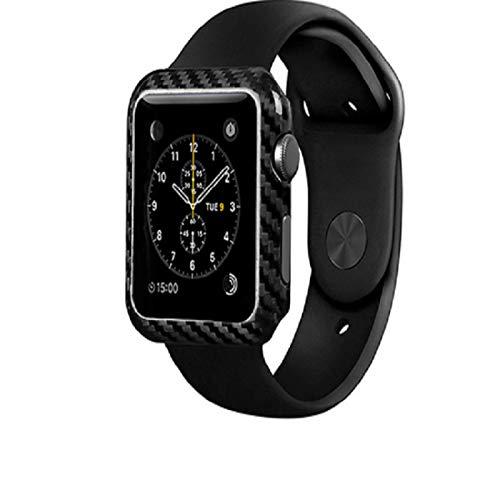 Hnxmkj Reloj deportivo de fibra de carbono reloj de moda de los hombres cuadrado reloj impermeable