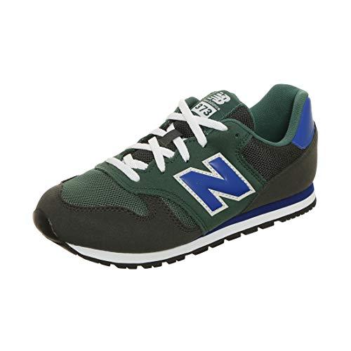 New Balance Yc373 kg Zapatillas de senderismo unisex, color Verde, talla 5.5 US - 38 EU - 5 UK