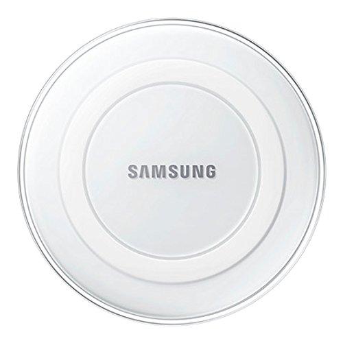 Samsung Induktive Ladestation Qi-Charger, kompatibel mit Samsung Galaxy S6/S6 Edge und S7/S7 Edge, weiß