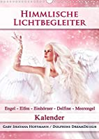 Himmlische Lichtbegleiter - Kalender (Wandkalender 2022 DIN A3 hoch): Zauberhafte Engel, Elfen/Feen, Einhoerner, Delfine und Meerengel (Monatskalender, 14 Seiten )