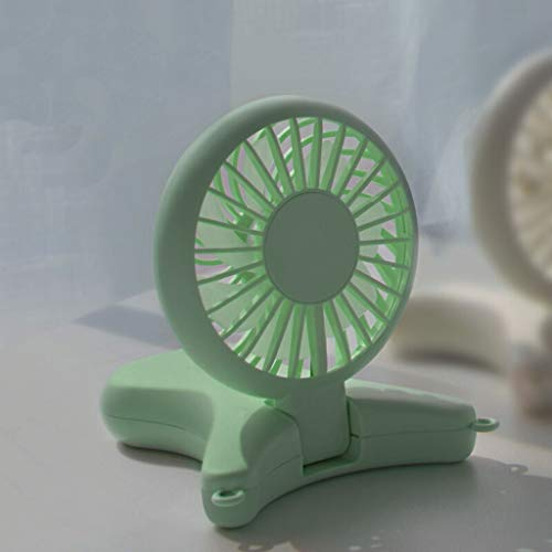 XZ15 Mini ventilator opknoping nek oplaadbare student slaapzaal draagbare USB draagbare met opladen schat mute hand kleine opvouwbare handheld ventilator