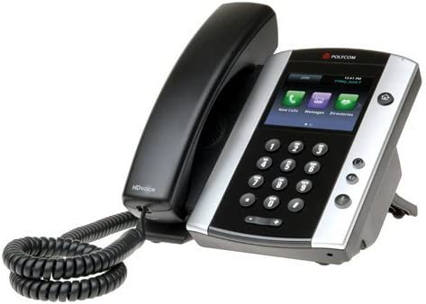 Polycom VVX 501 Corded Business Media Phone System - 12 Line PoE - 2200-48500-001 - AC Adapter Not Included - Replaces VVX 500 (Renewed)