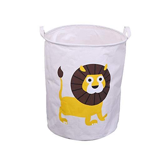 esta de ropa rucia con león amarillo para bebé