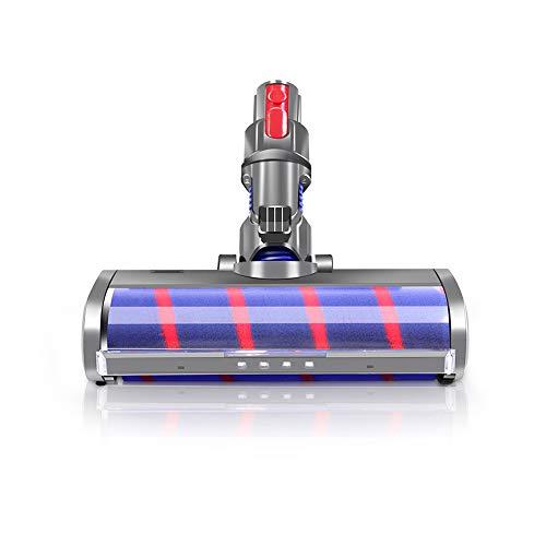 E.LUO Fluffy Floor Head Soft Roller Brush for Dyson V7 V8 V10 V11...