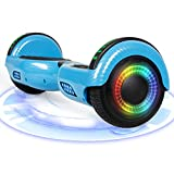 Huanhui Hoverboard, 6.5' Self Balance Scooter con luci a LED Altoparlante Bluetooth Ruote...