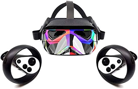 GEZICHTA VR Headset Sticker Skin Decals Decorative PVC Removable Wrap Cover Accessories sy Apply product image