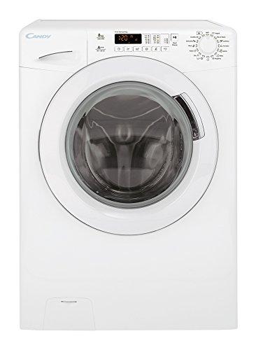 Candy GS 128DH3-01 Libera installazione Carica frontale 8kg 1200Giri/min A+++ Bianco lavatrice