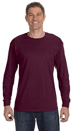 Jerzees 29L 5.6 G 50/50 T-shirt à manches longues pour homme - Rouge - XX-Large