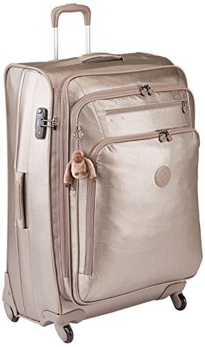 Kipling - YOURI SPIN 78 - 99 Litros - Trolley - Metallic Pewter - (Dorado)