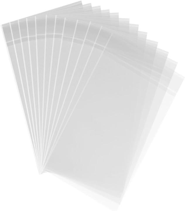 AcePlus 100 OPP Peel /& Seal Resealable Clear Plastic Bag 5 x 7