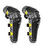 Adesign Rodilleras Profesionales con Relleno de Espuma de Altas Prestaciones for Motocross Montar a Caballo del Protector de la Rodilla (Color : Gray)