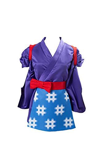 Cultofmoon Disfraz de Daisy Mae Cosplay Kimono Traje de Halloween Carnaval
