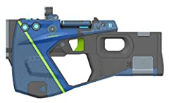 1:1 life size Prop replica of a rare edition of the Maliwan Pistol from Borderlands 3 Functioning switches and rotating ammo cartridge to simulate actual use (rotates faster as you hold the trigger) Light and sound effects that can be seen and heard ...