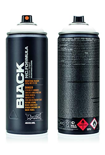 Montana Cans Montana BLACK 400ml Color, Snow White Spray Paint