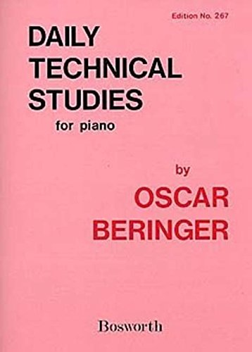 Daily Technical Studies for Piano [Lingua inglese]