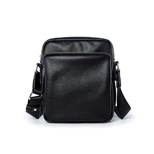 QINEOR Herren Messenger Bag Business Umhängetasche Umhängetasche Satchels Aktentasche,A
