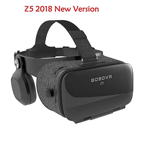 BOBOVR Z5 New Version Virtual Reality 3D Glasses for iPhone Samsung Xiaomi Smartphones FOV 120 Degrees VR Stereo Box (Without Remote)